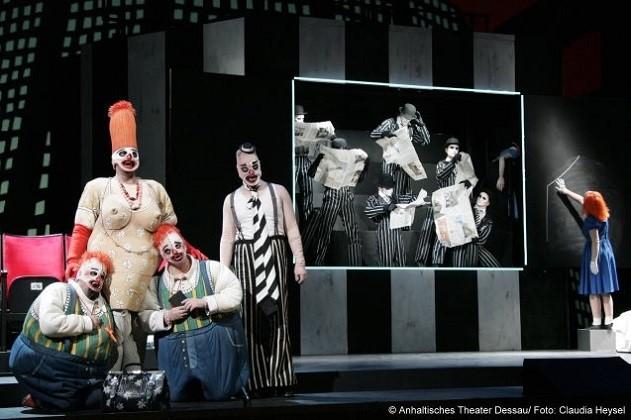 Die 7 Todsünden - Anhaltisches Theater Dessau - Kurt Weill Fest 2009
