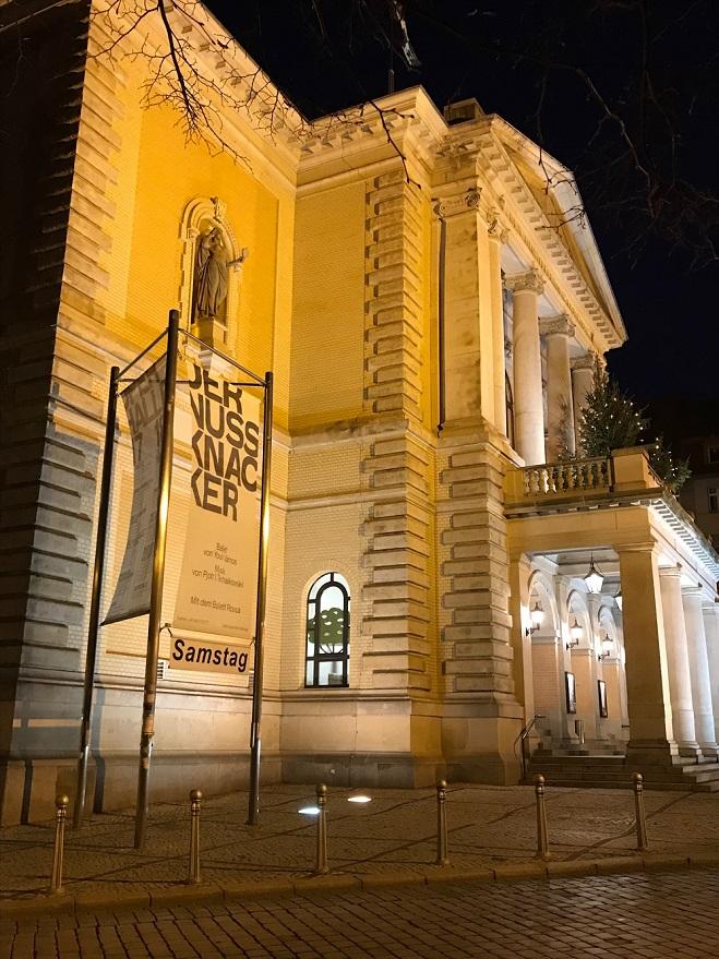 Oper Halle am 23.12.2017