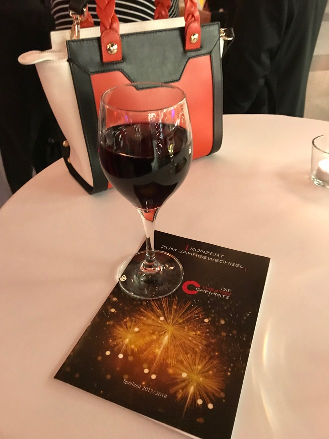 Wein in der Stadthalle Chemnitz