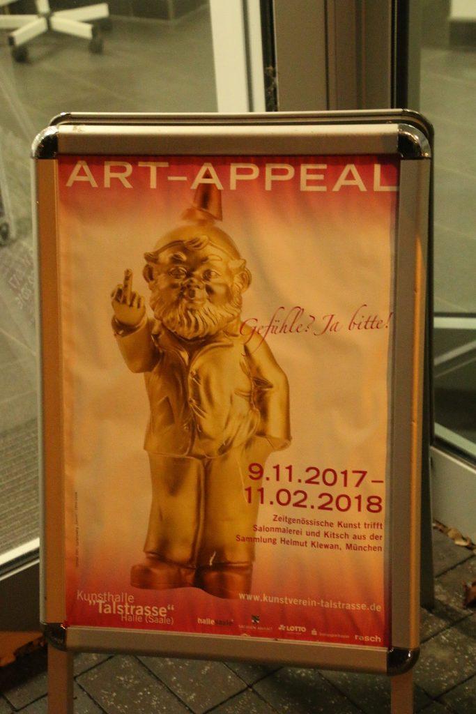 ART-APPEAL Ausstellung in der Kunsthalle Talstrasse in Halle