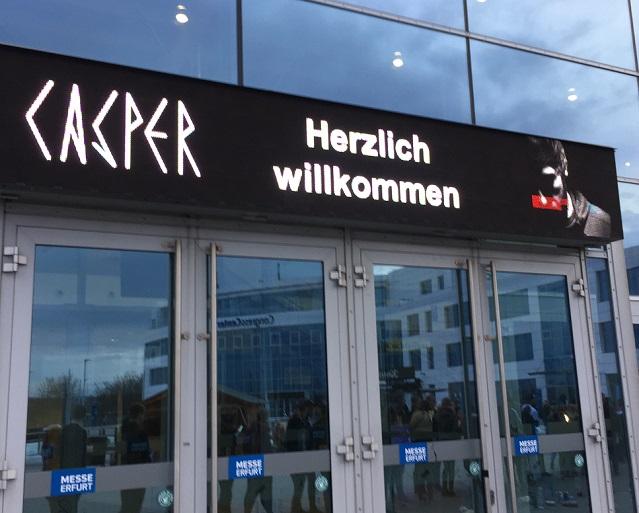 Casper in Erfurt