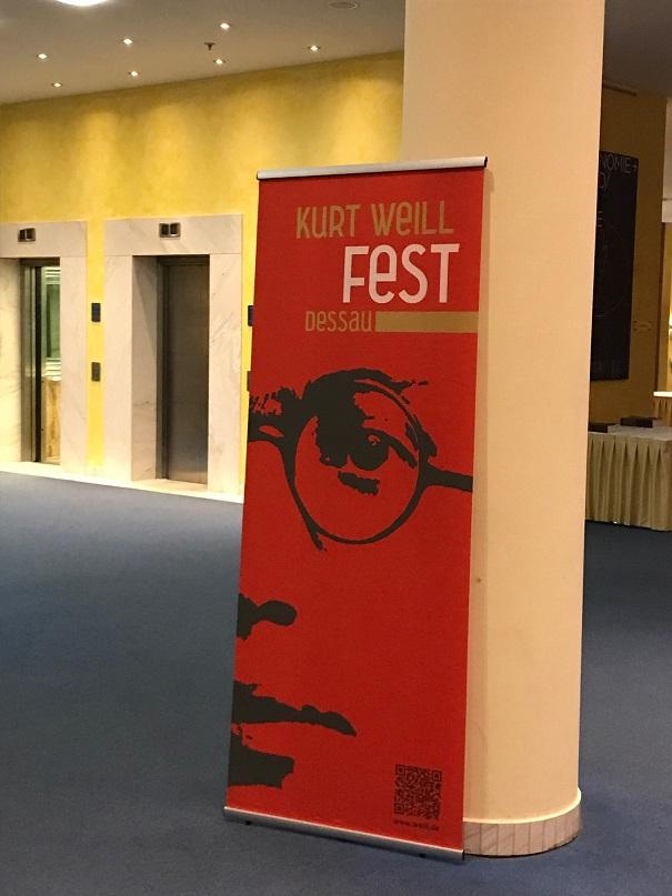 Kurt Weill Fest 2018 in Dessau