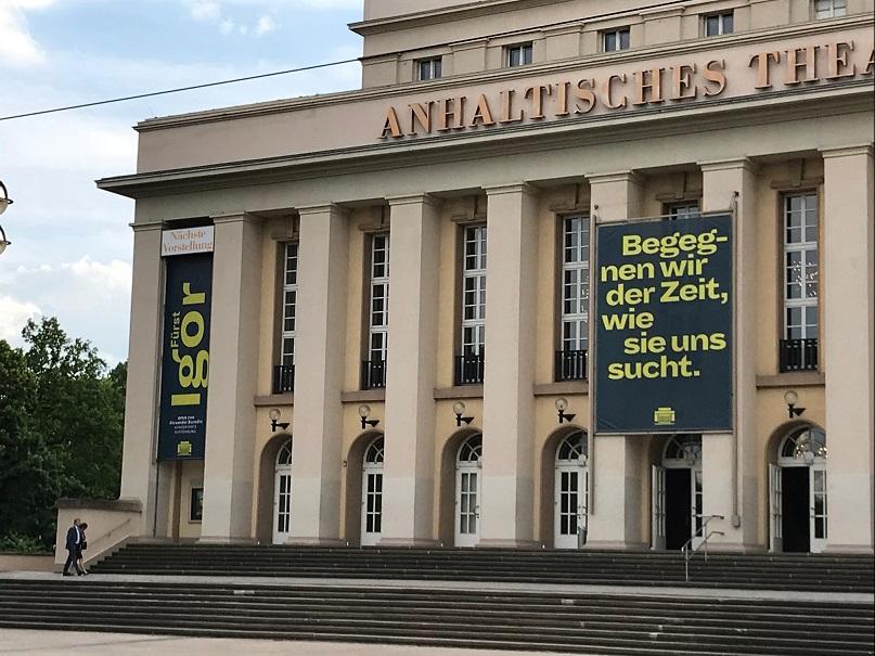Das Anhaltischen Theater Dessau am 25.05.2018.