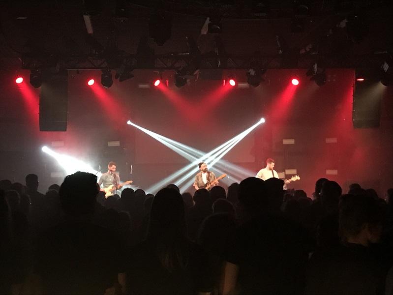 Vorband zu Awolnation im Gibson in Frankfurt am 07.04.2018