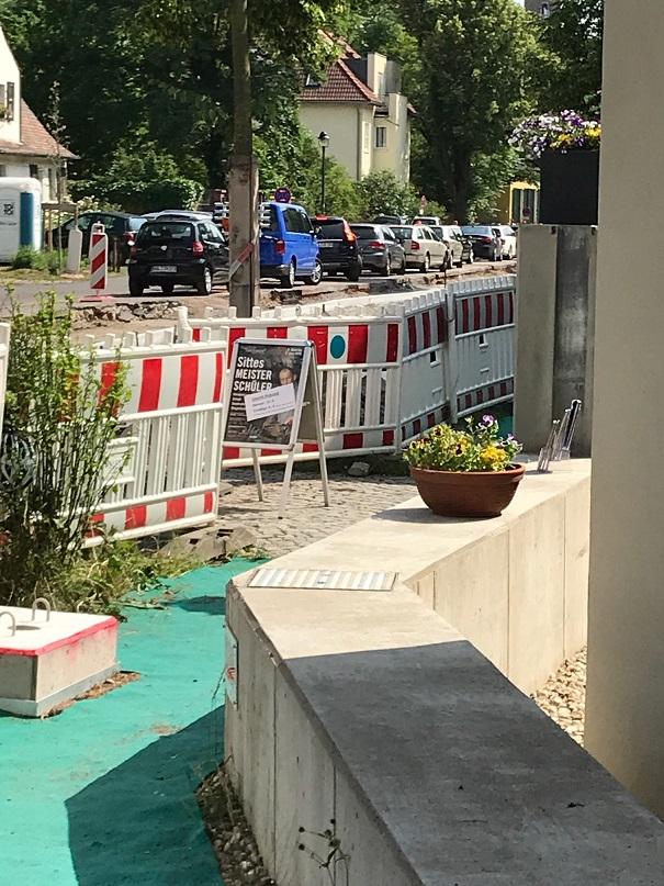 Sittes Meisterschüler Kulturverein Talstrasse Halle am 03.06.2018.