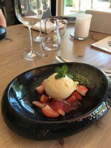 Dessert; Restaurant Laurus Vital, Hartmannsdorf bei Chemnitz