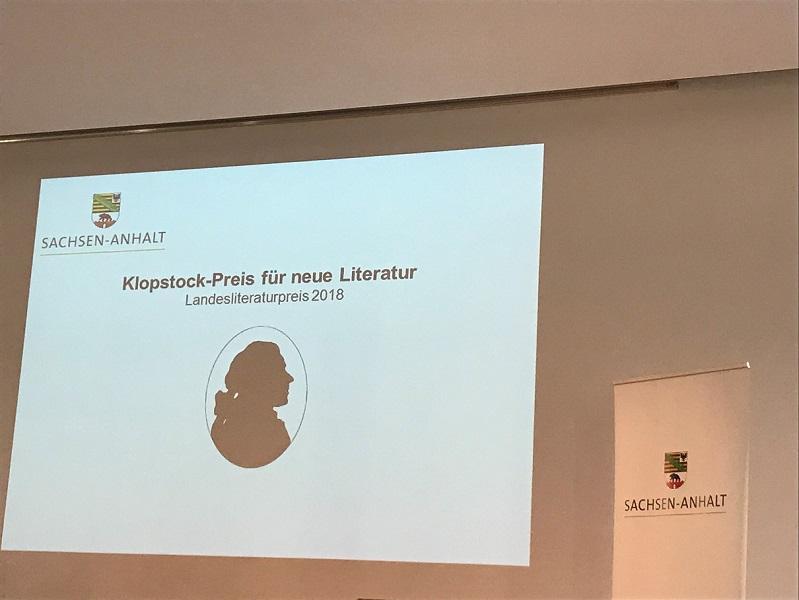 Klopstockpreis 2018
