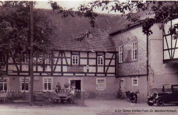 Gasthof Kirbach in Leutenhain (Foto: Dr. Manfred Kirbach)