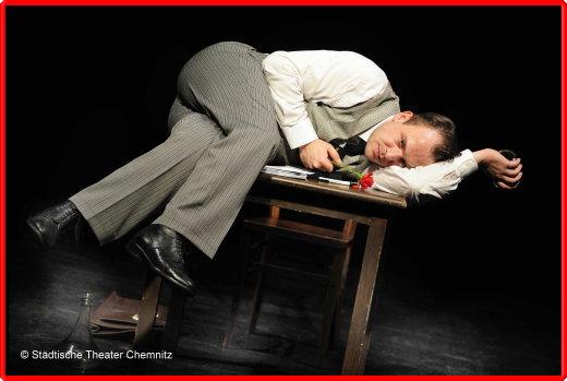 Theater Chemnitz  Ein Bericht für eine Akademie mit Urs Rechn  Foto:Dieter Wuschanski