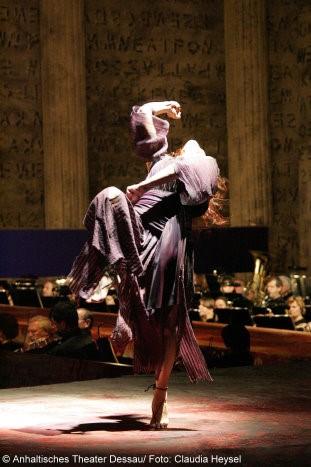 KS Iordanka Derilova zur Premiere Elektra am Anhaltischen Theater Dessau Mai 2009