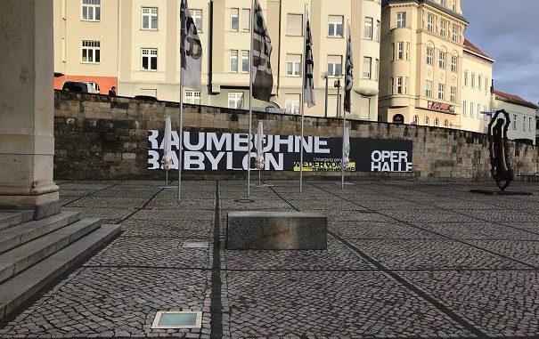 Raumbühne Babylon, Oper Halle, Messa da Requiem