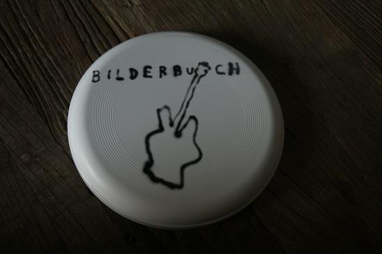 Bilderbuchfrisbee.