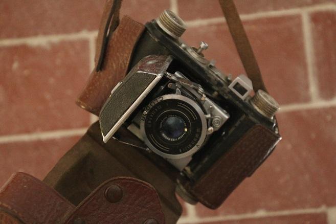 (c) Kulturspalte - alte Kamera