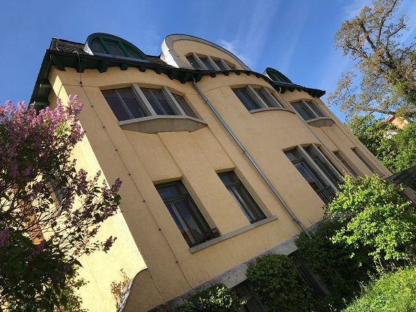 Villa Henneberg in Weimar, gebaut von Henry van de Velde!