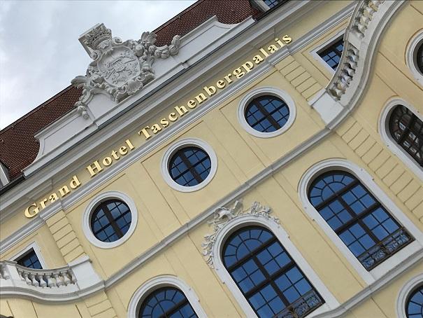 Das Taschenbergpalais in Dresden Juni 2019. Kulturspalte.