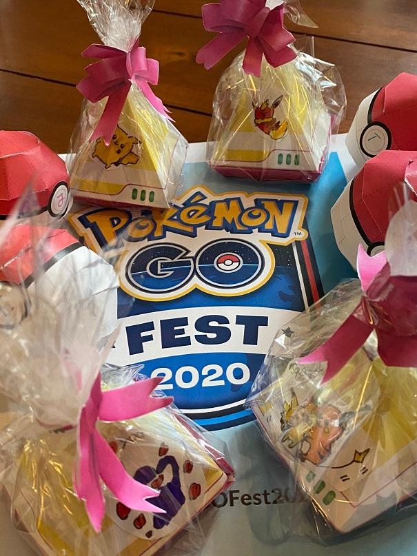 Gebastelt - Pokémon Go Fest 2020