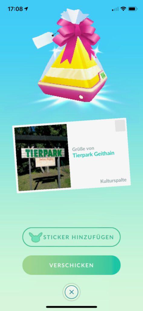 Pokémon GO - Tierpark Geithain