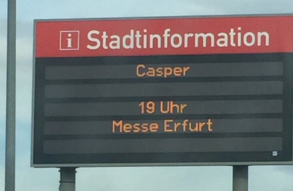 Casper in Erfurt 2018